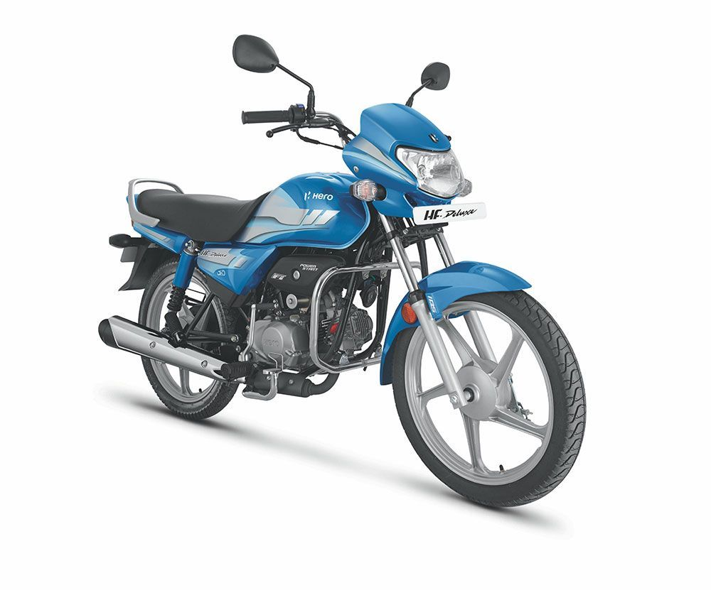 2020 Hero Hf Deluxe Bs6 Launched At Rs 55 925 In 2020 Hero Motocorp Motorcycles In India Hero