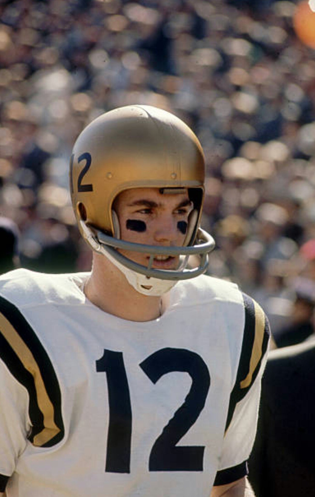 15b4bacbe83 QB Roger Staubach, Navy, Heisman Trophy winner, later NFL Hall Of Fame. Find  this Pin and more ...