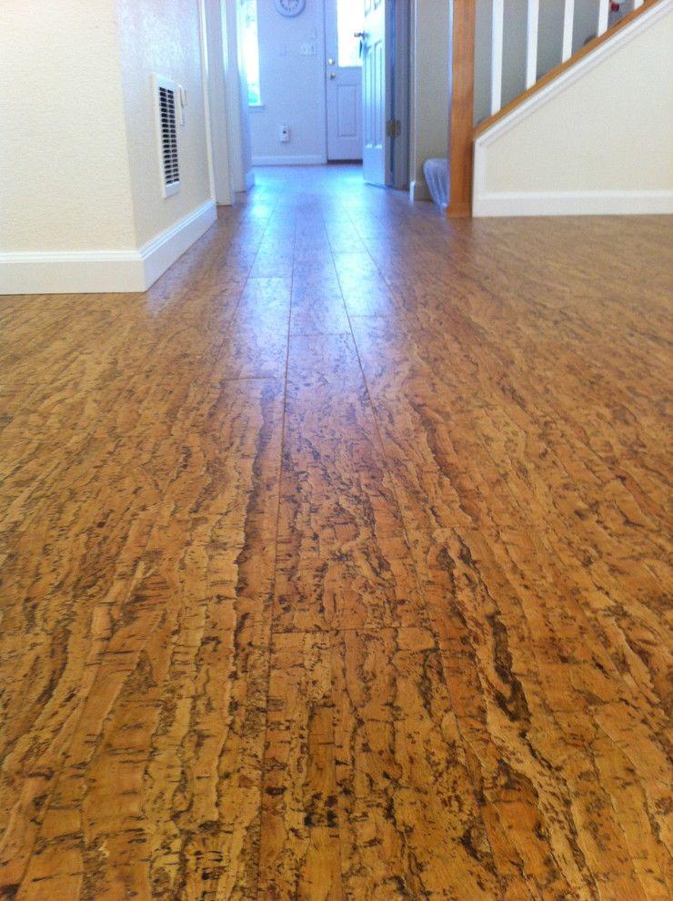 Cork Floor Contemporary Wood Flooring Denver Squeat House
