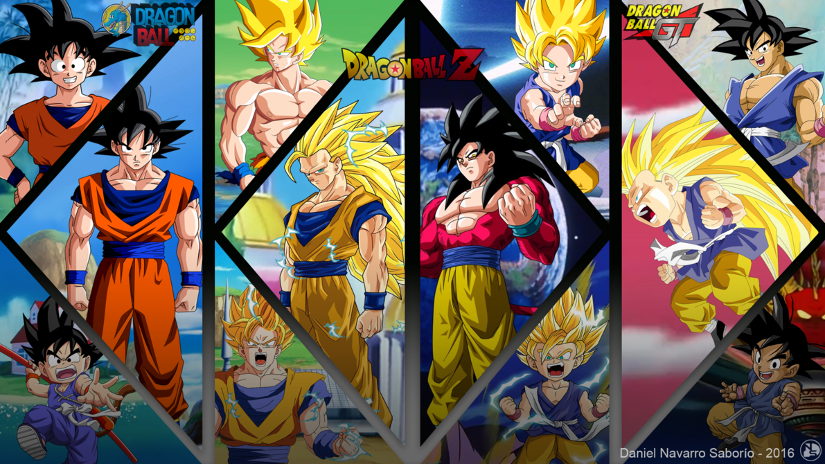 Goku Evoluciones Db Gt Wallpaper By Danielns116 Deviantart Com On