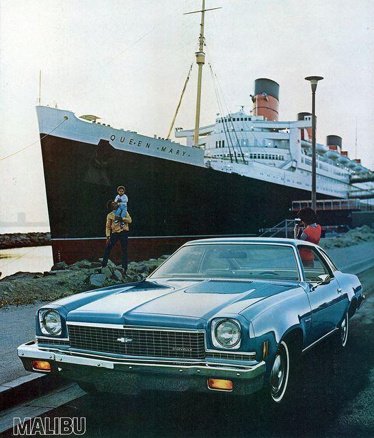 1973 Chevrolet Chevelle Malibu Colonnade Hardtop Coupe Chevrolet