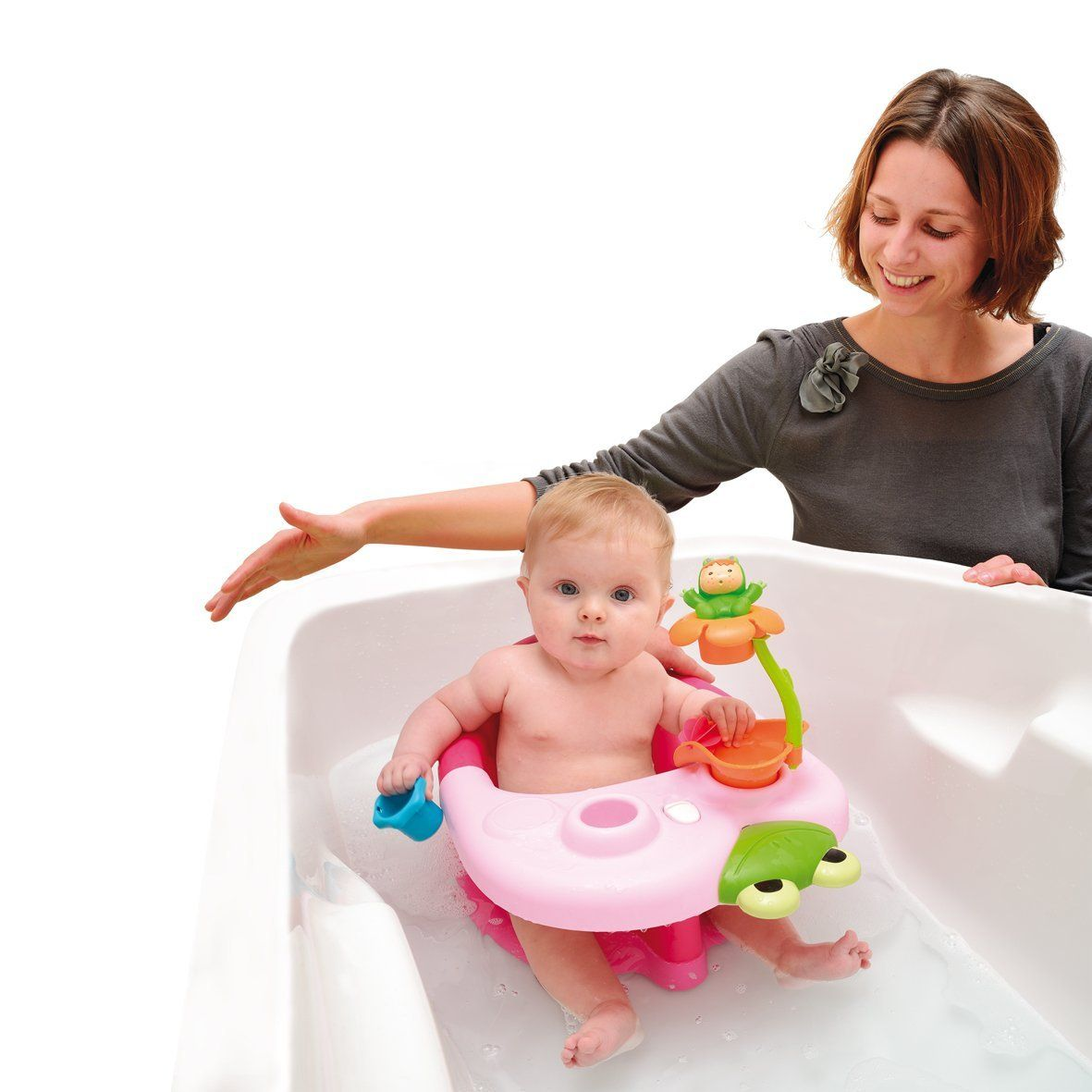 Smoby 211 131 Bagno Giocattolo Bagno Rose Cotoons Siege