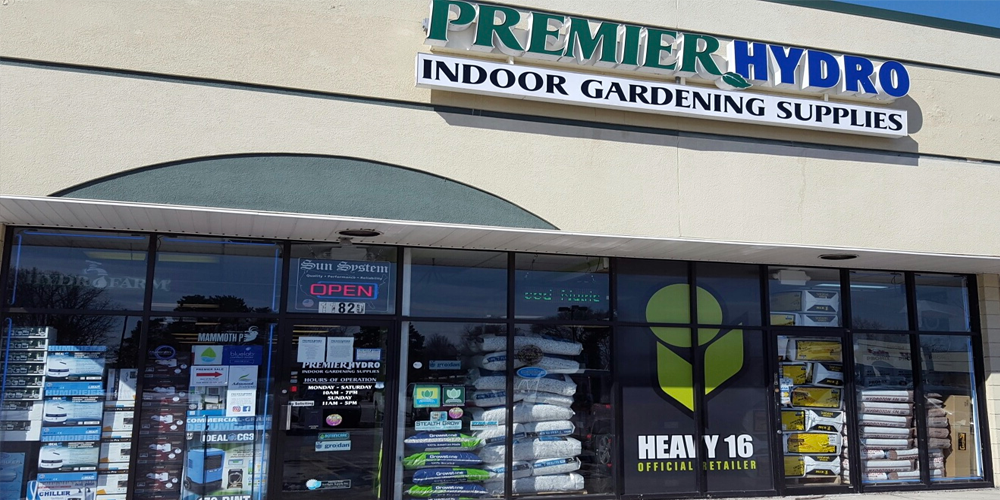 Premier Hydroponics has 4,500squarefeet of the leading