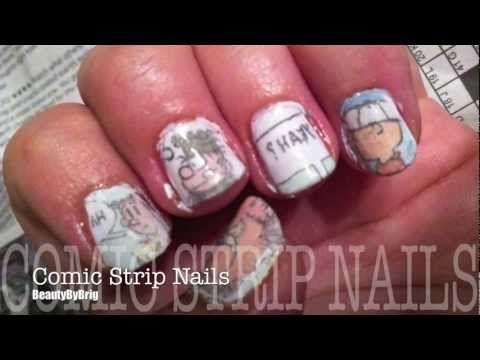 Comic Strip Nails