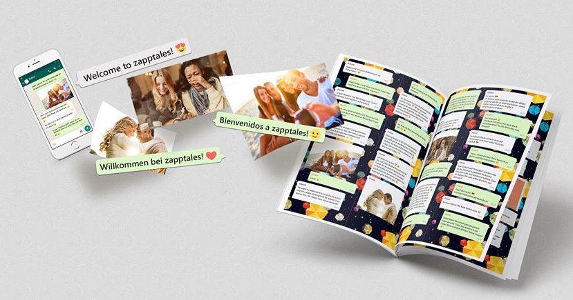Create Your Zapptales Chat Book Now Zapptales In 2020 Mit Bildern Personliche Geschenke Freund