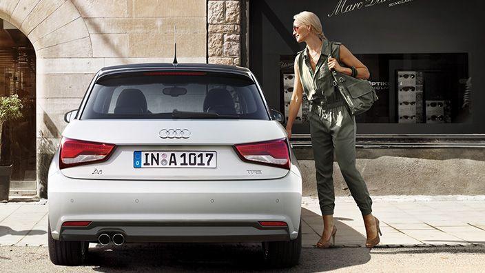 Audi A1 Audia1 Sportback White Bianca Sport Woman Audi A1 Audi Audi A1 Sportback