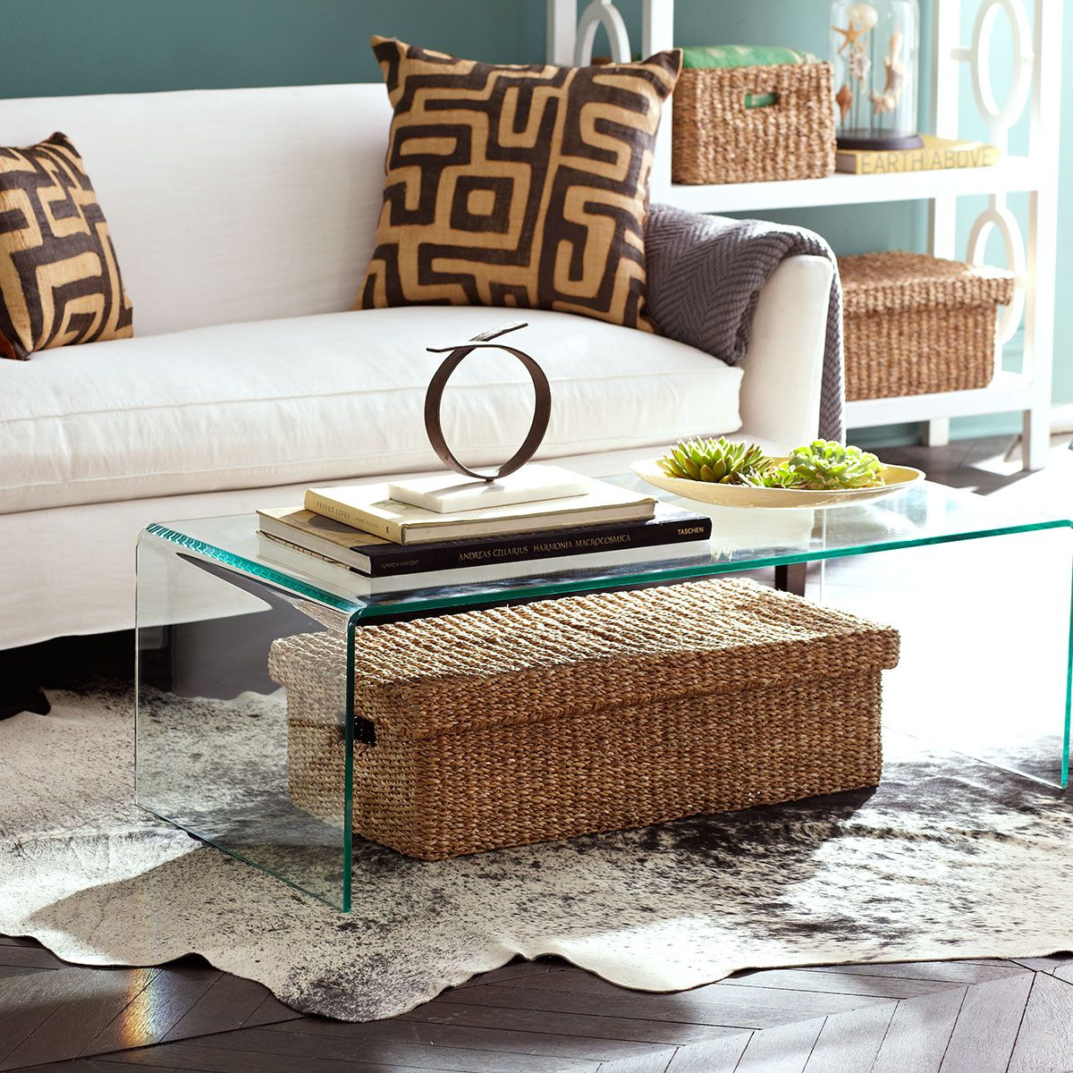 Wisteria waterfall coffee table look for acrylic version