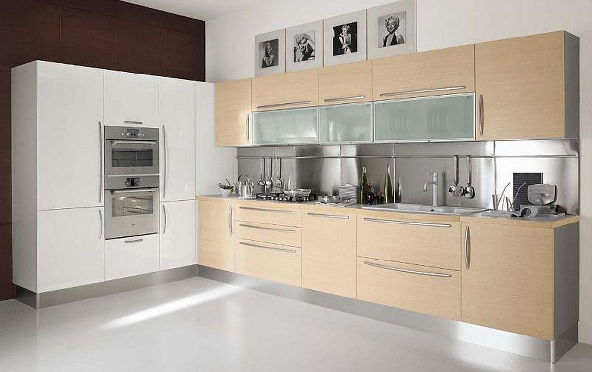 Uncategorized Kitchen Cabinet Modern Design kitchen cabinet colors flat fronts rail pulls steel backsplash modern colors
