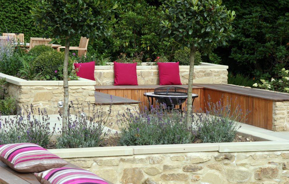 Garden Design York Uk garden design london and south east, york stone terraced garden in