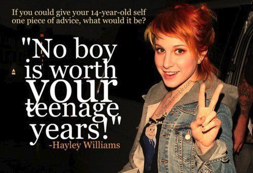 hayley williams, paramore, quote - inspiring picture on Favim.com