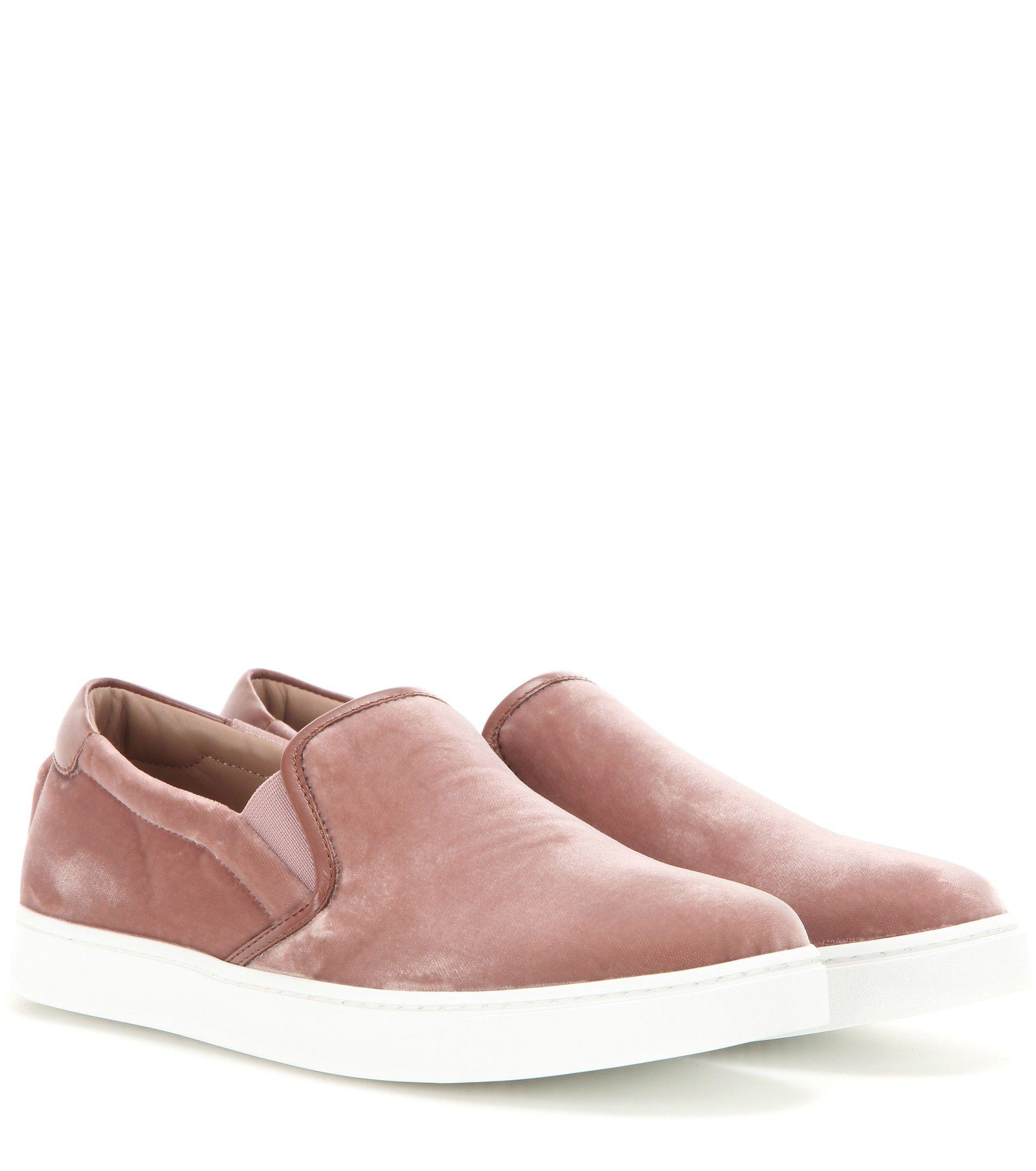 Velvet Sneakers Fashion Venice Slip On Luxury For DE2WH9IY