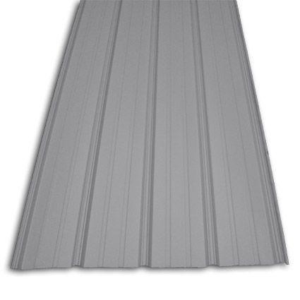 Premium Pro Rib Light Gray Exterior Paneling Metal Roofing Materials Metal Awning