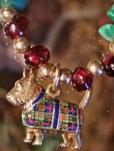 Enameled-14k-Scottie-Dog-Pendant-Malachite-Garnet-Azurite-Bead-Necklace-24