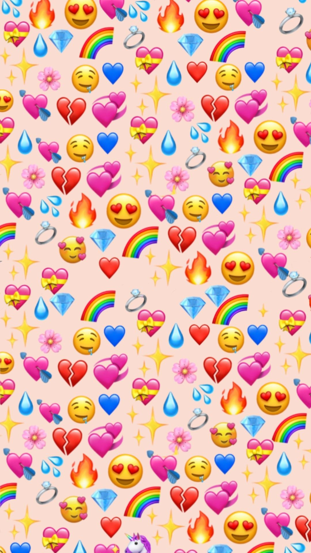 Wallpaper emoji Emoji wallpaper iphone, Cute emoji
