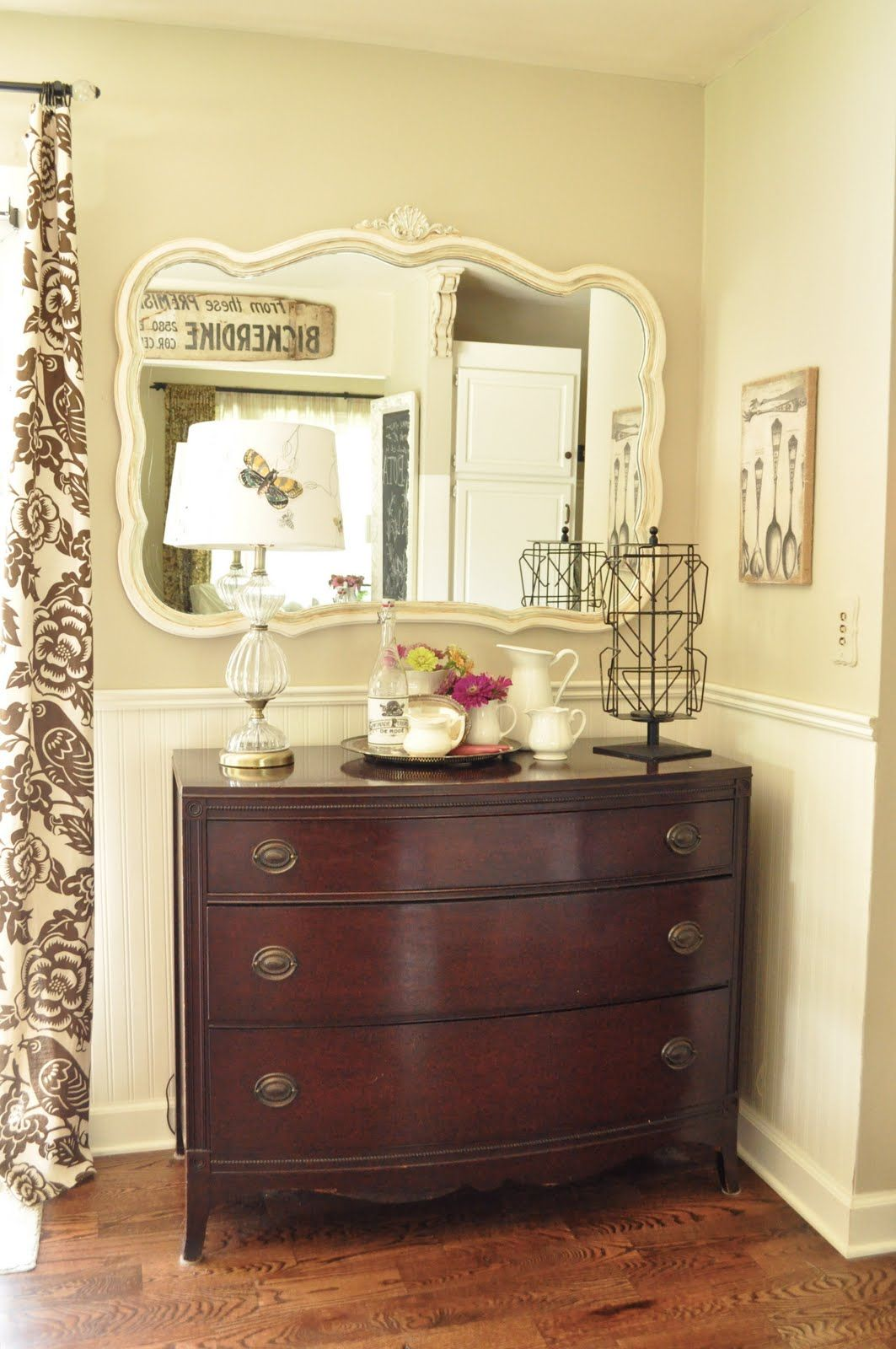 Dresser is very similar to the one in girls\' room now. Want to put a ...