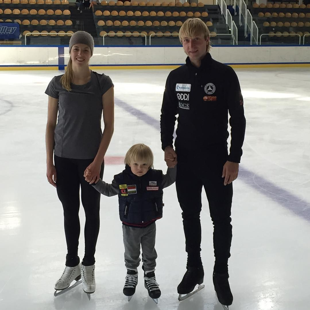 The son of Plushenko and Rudkovskaya is among the five most beautiful children on the planet according to the L'Officiel magazine