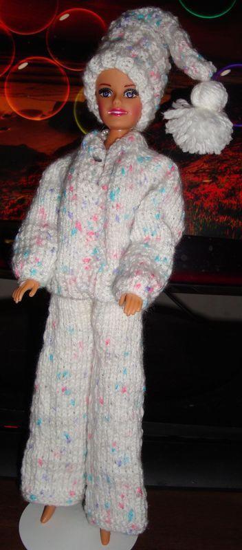 Ladyfingers Barbie Ken Quickie Knitting Patterns Crafts