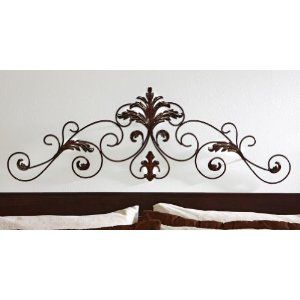 Scrolled Leaf Flourish Metal Wall Decor By Collections Etc With