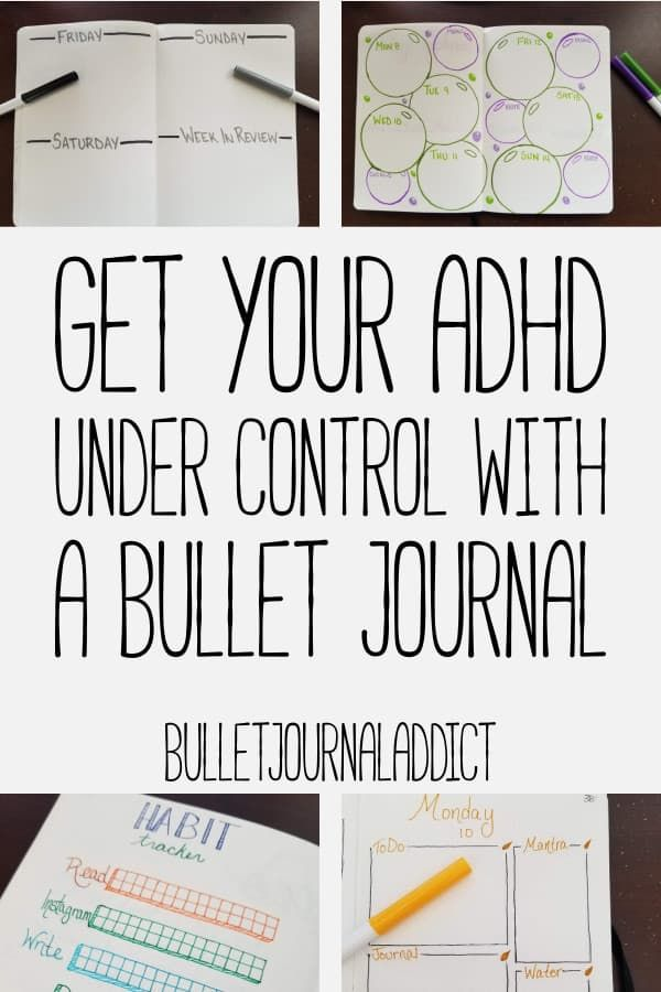 Bullet Journal Addict - Bullet Journal ADHD Management Tips and Advice