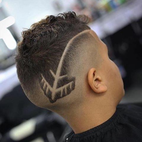 Cortes de cabello de hombres con disenos