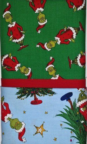 Green+with+Blue+Grinch+Christmas+Pillowcase+Kit+at ...