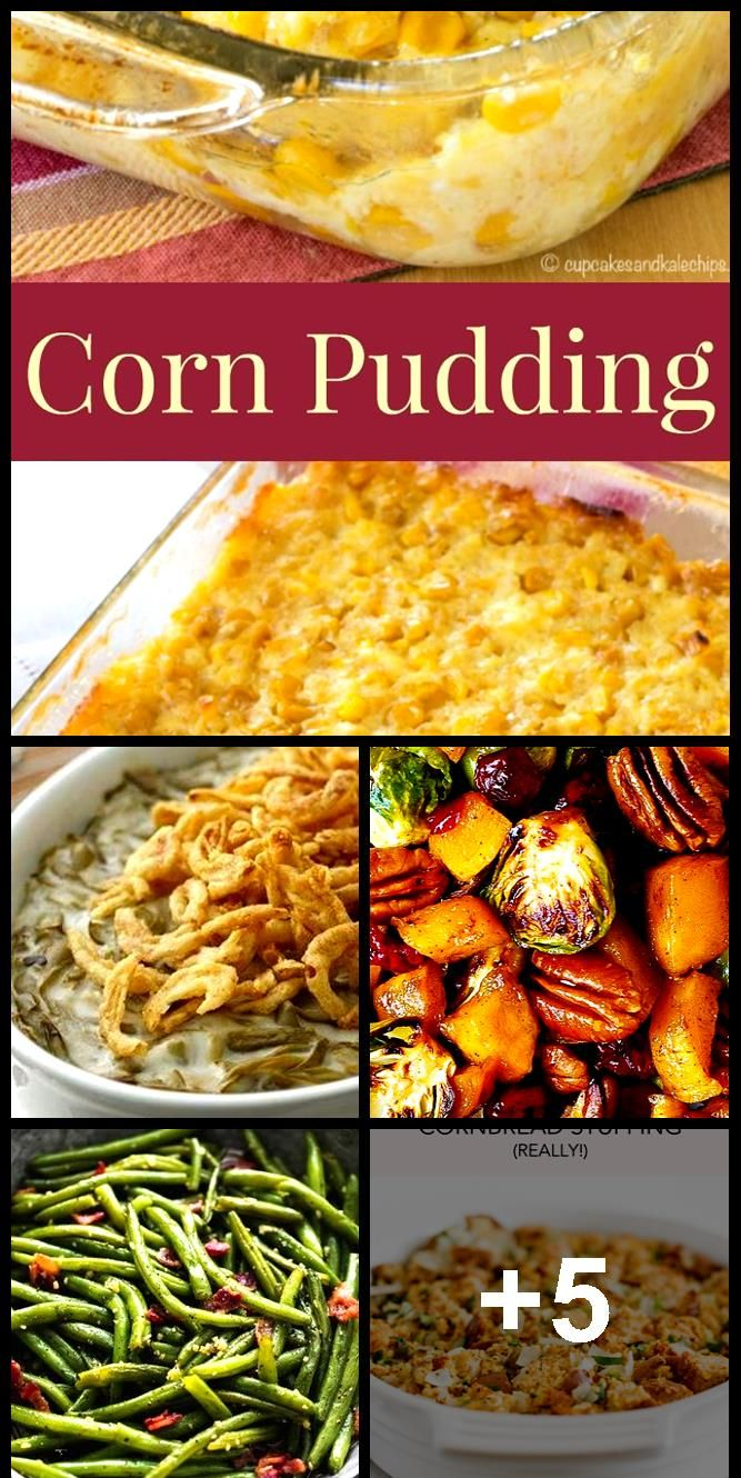 Corn Pudding  a family favorite side dish recipe for Thanksgiving and Christmas Corn Pudding  a family favorite side dish recipe for Thanksgiving and Christmas