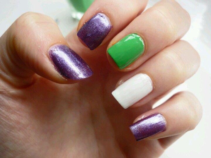 Joker nail art | Nails | Pinterest | Joker, Beauty nails and Makeup