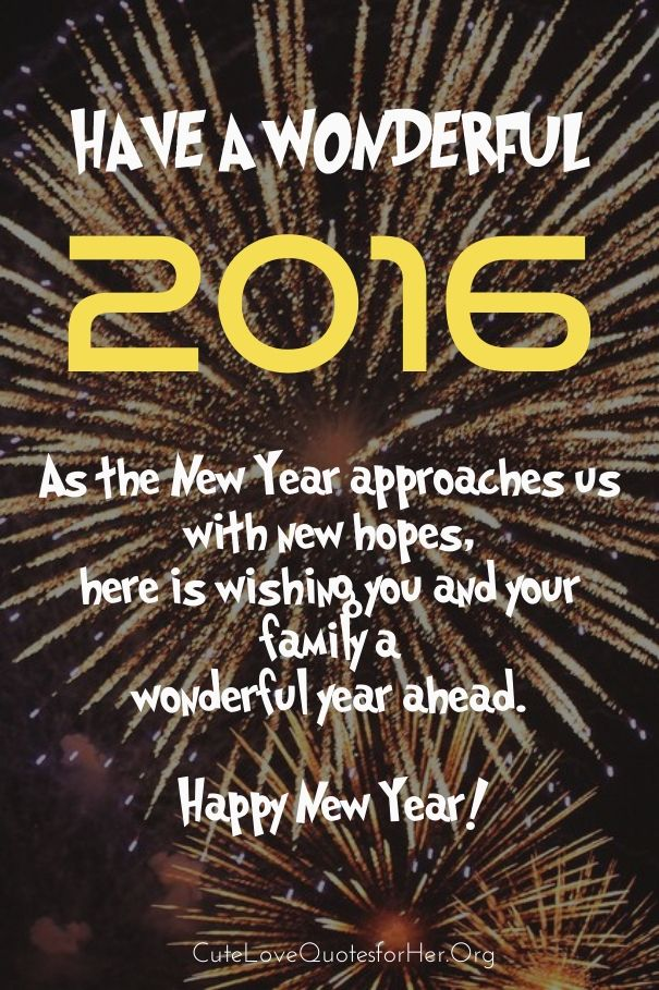 new years greeting 2016 cards