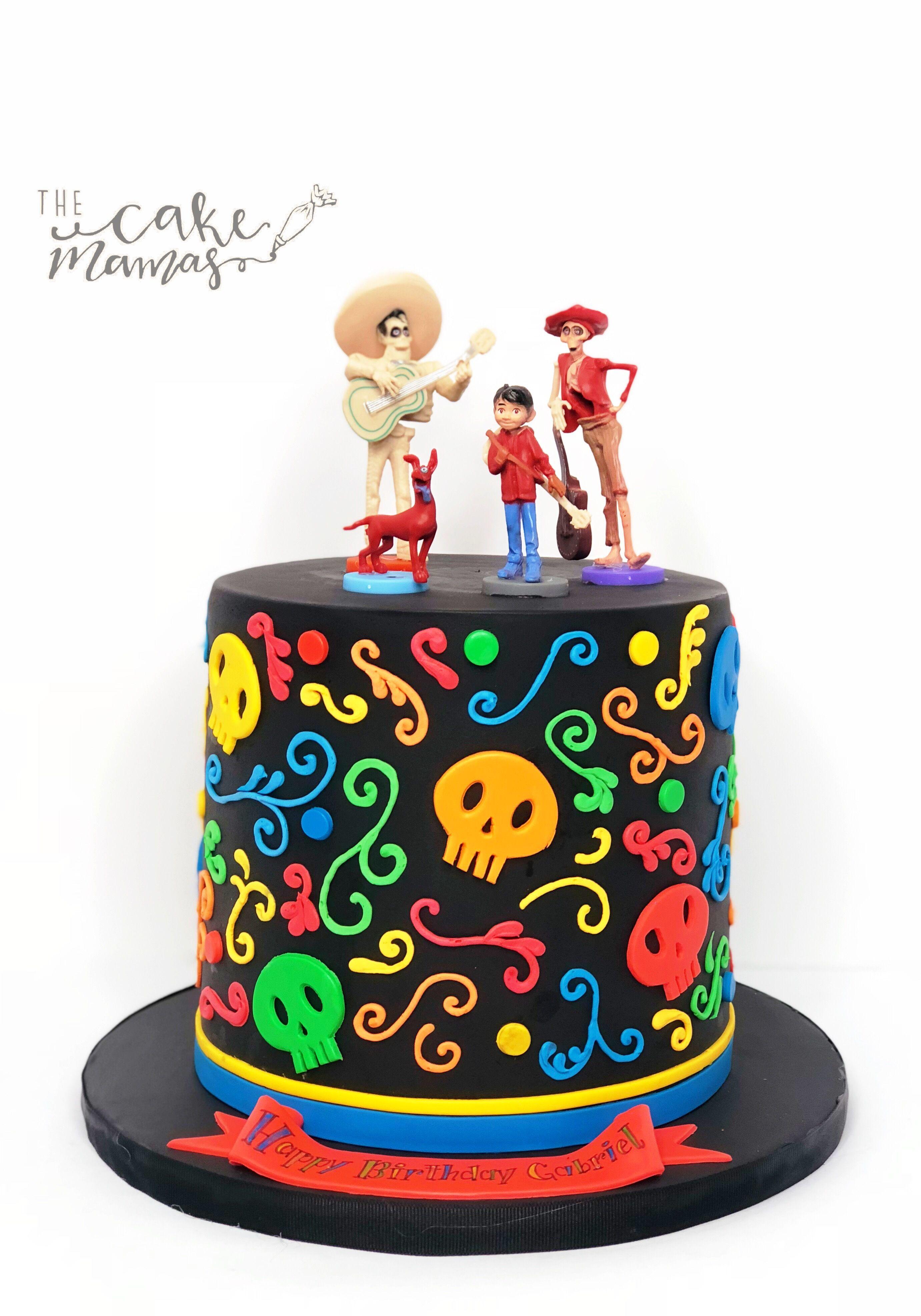 Un Poco Loco Disney S Coco Themed Birthday Cake Call Or
