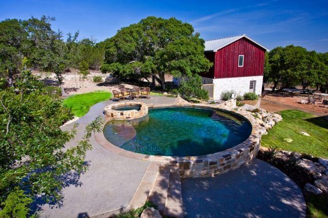 Ideen für Gartenpool klein haus klein pool design Garten - garten anlegen mit pool
