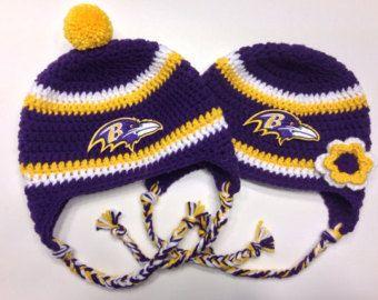 7c22280d Baltimore Ravens Crochet Patterns | Popular items for raven crochet ...