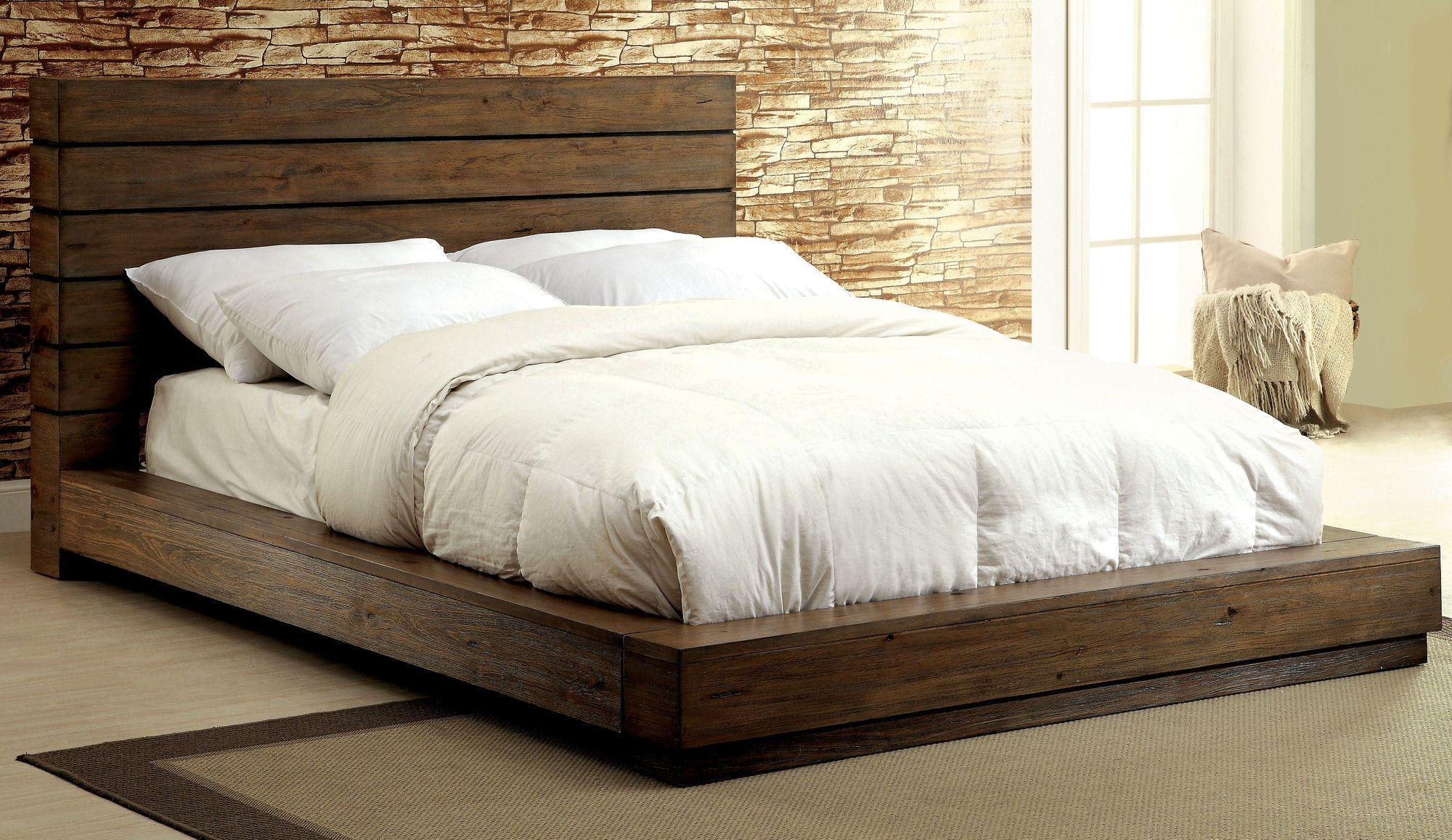 Elliston Platform Bed | Master bed idea | Pinterest