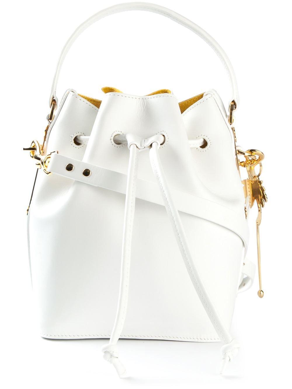 b38973b27b Sophie Hulme Drawstring Bucket Shoulder Bag - Papini - Farfetch.com ...