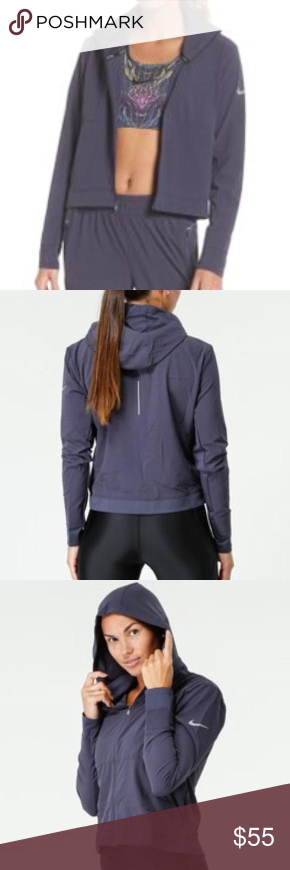 b42f5900273b37 Nike DRI-FIT Swift Running Jacket Gray - NWT NWT Nike Swift Running Jacket,
