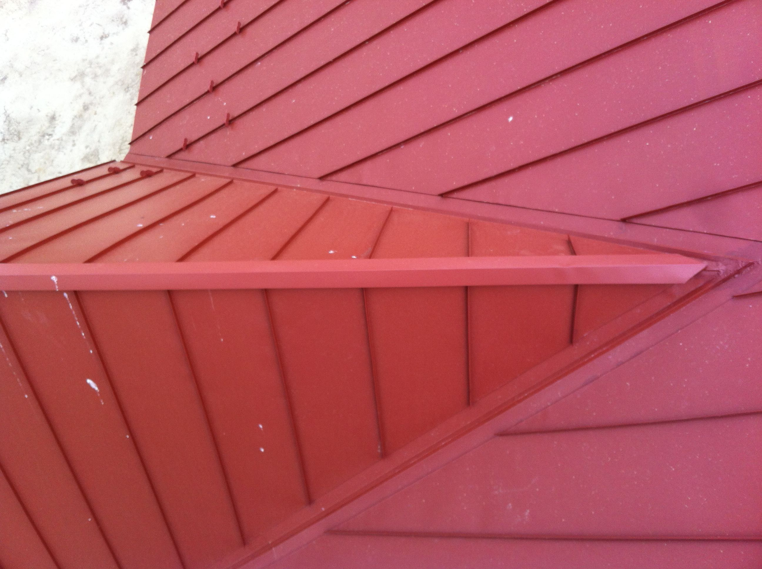 red metal roof #red #metal http://www.ubroofing.com | Metal Roofs ...