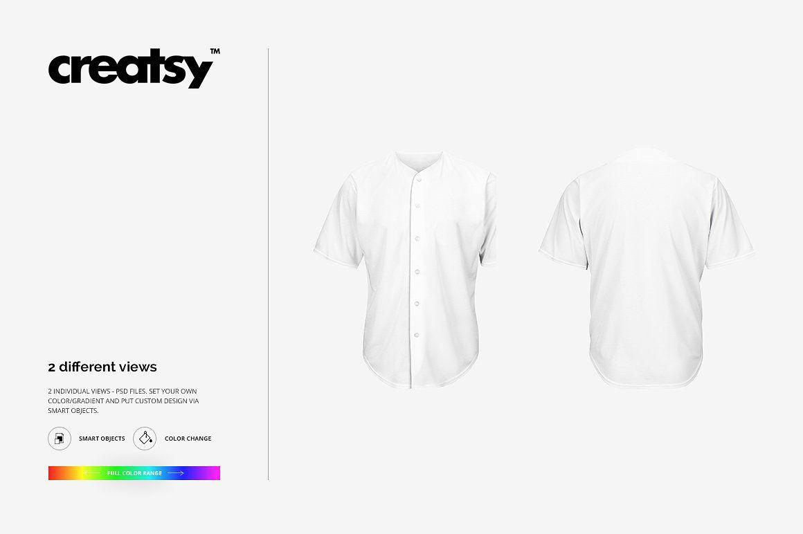 Download Baseball Jersey Mockup Set Adobe Illustrator Design Baseball Jerseys Jersey