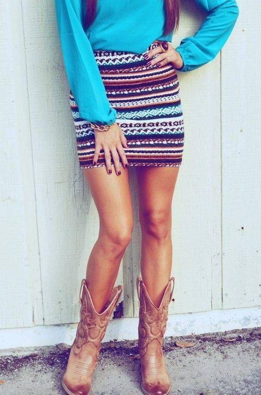 1000  images about Cowboy Boots on Pinterest | The cowboy Skirts