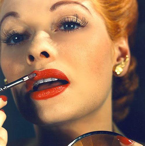 Maquillaje años 40.