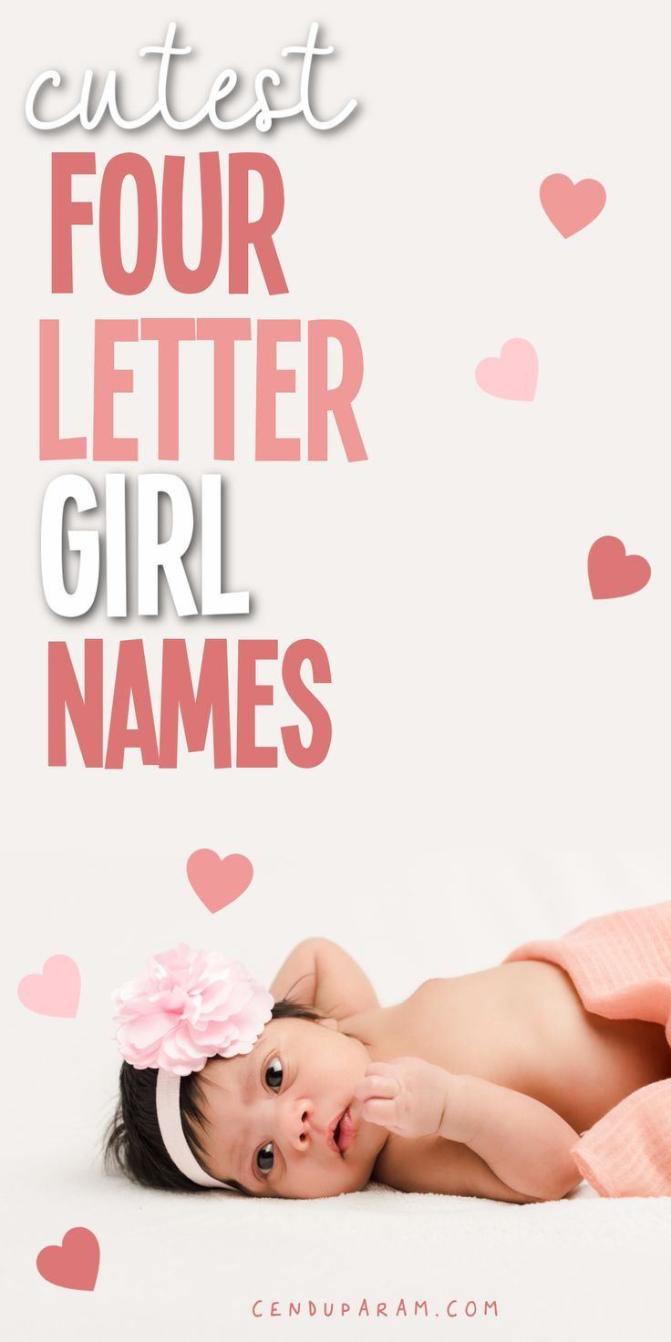 Cute Short Names For a Baby Girl