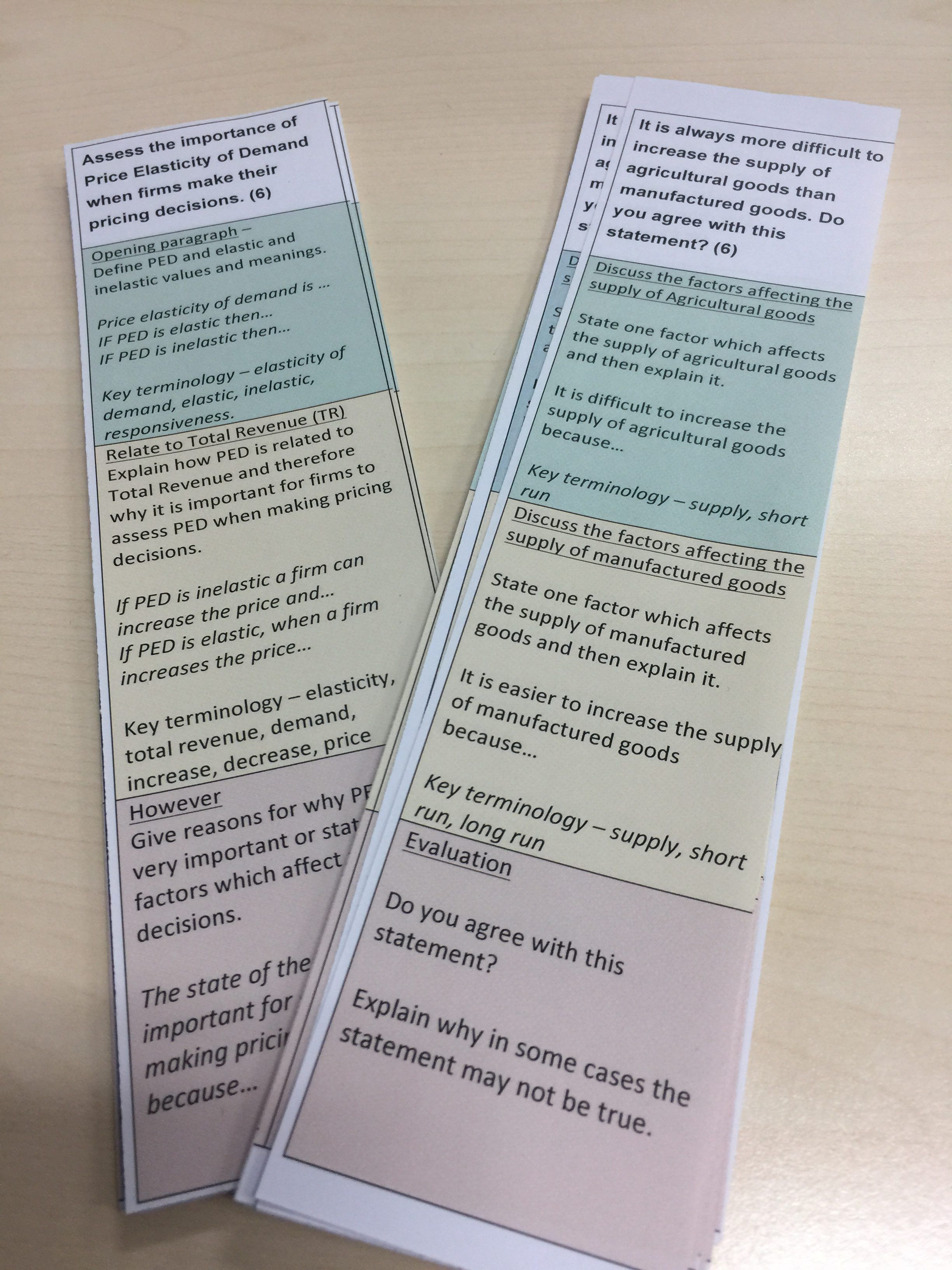 On The Use Of Structure Strips To Aid Writing In The Esl