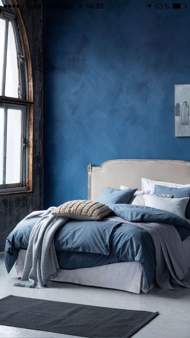 Pin von Elen auf Innenräume Blaue schlafzimmerideen