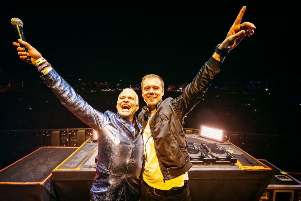Armin Van Buuren And David Lee Roth Of Van Halen Talk About Fusion