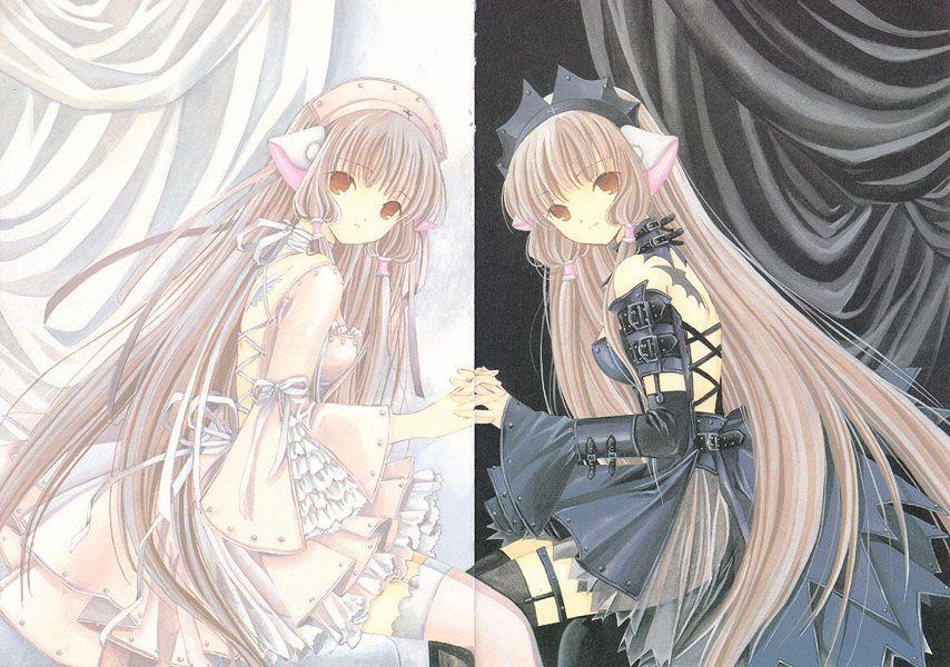 angel and devil anime ...