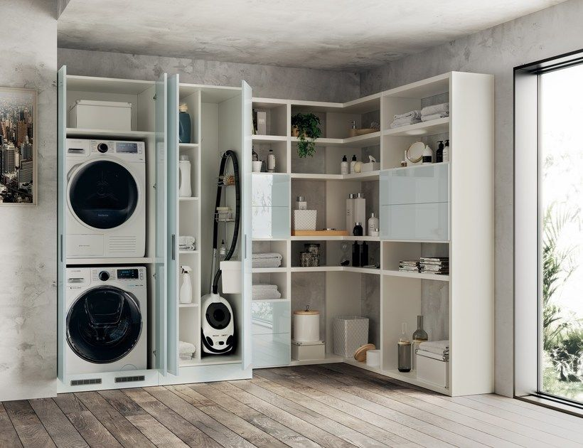 Mobile lavanderia LAUNDRY SPACE by Scavolini Bathrooms | Lavanderia ...