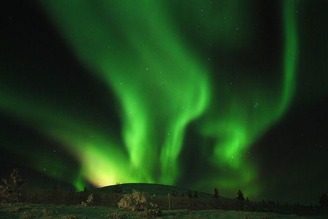 Aurora Borealis in Lapland, Finland by Visit Finland, via Flickr