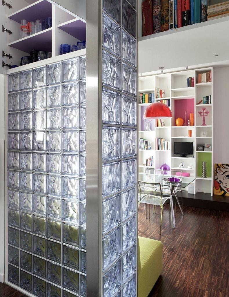 Tijolo De Vidro Modelos Pre Os E 60 Fotos Inspiradoras Cozinha  -> Tijolo De Vidro Marrom