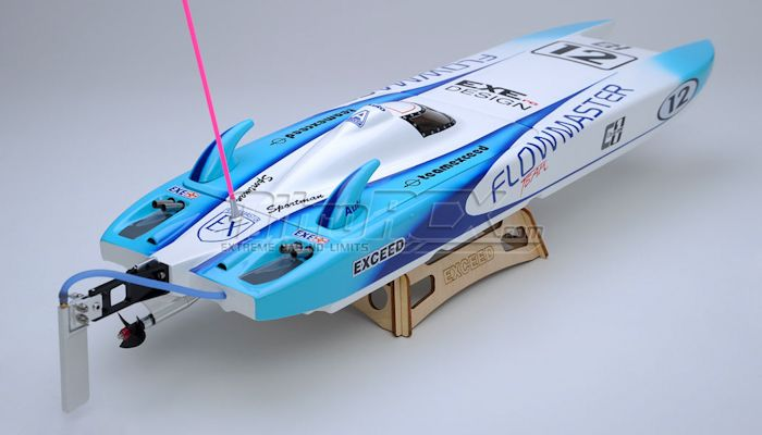 Exceed Racing Electric Powered Fiberglass Catamaran Mm Kit - Custom vinyl decals for rc boatsrc boat archives bonzi sports rc gas boats and accessories