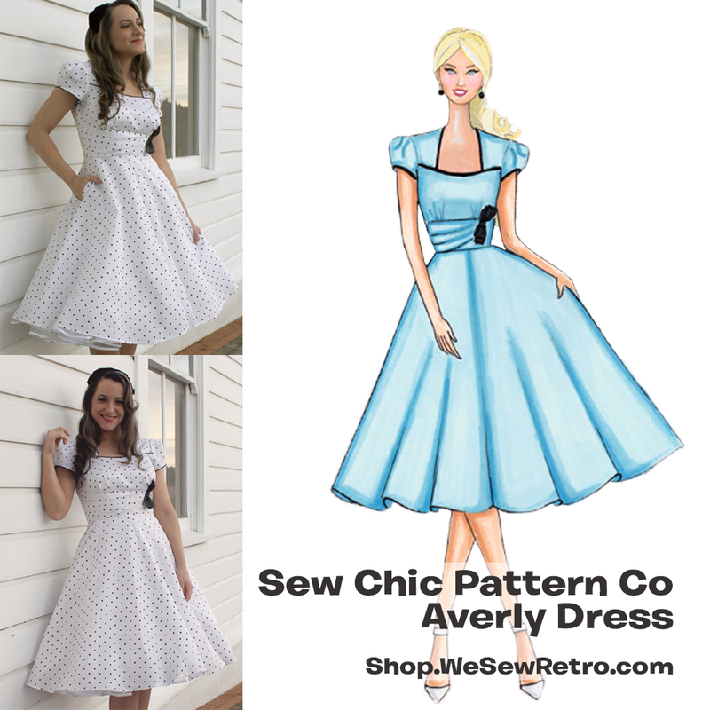 Sew Chic Averly Dress Sewing Pattern by Sew Chic Pattern Company ...