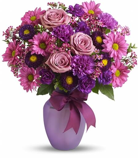 Shop Flowersandflowerthings In 2020 Beautiful Bouquet Of Flowers Purple Flower Arrangements Get Well Flowers