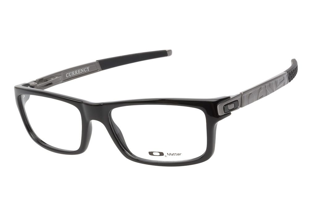 oakley currency ox8026 05 polished black eyeglasses are worth an investment this is the worlds